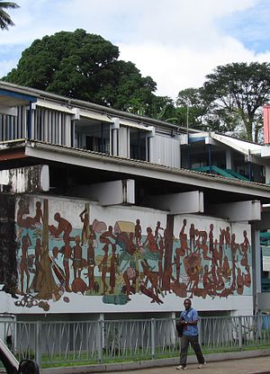 Port Vila - Image: Port Vila Wall Painting