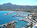 Port et ville depuis la citadelle (Calvi) (3).jpg