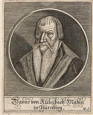 Hans von Kulmbach - Portrait of Hans von Kulmbach