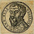 Portrait of Andreas Vesalius (1514 - 1564), Flemish anatomist Wellcome V0006027ER.jpg