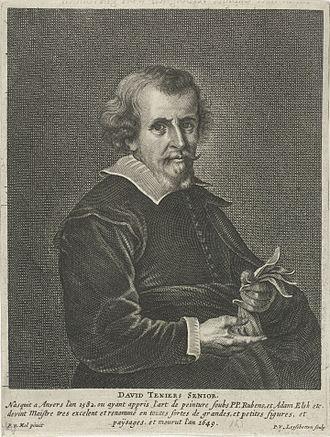 Pieter van Lisebetten - Image: Portrait of David Teniers I 1582 1649
