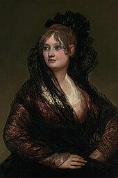 Resultado de imagen de oleo de mujer con ojos grandes siglo xix
