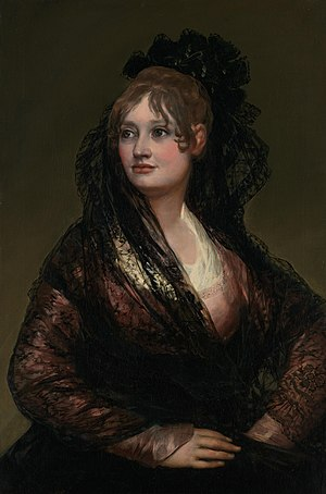 Portrait of Doña Isabel de Porcel by Francisco Goya.jpg