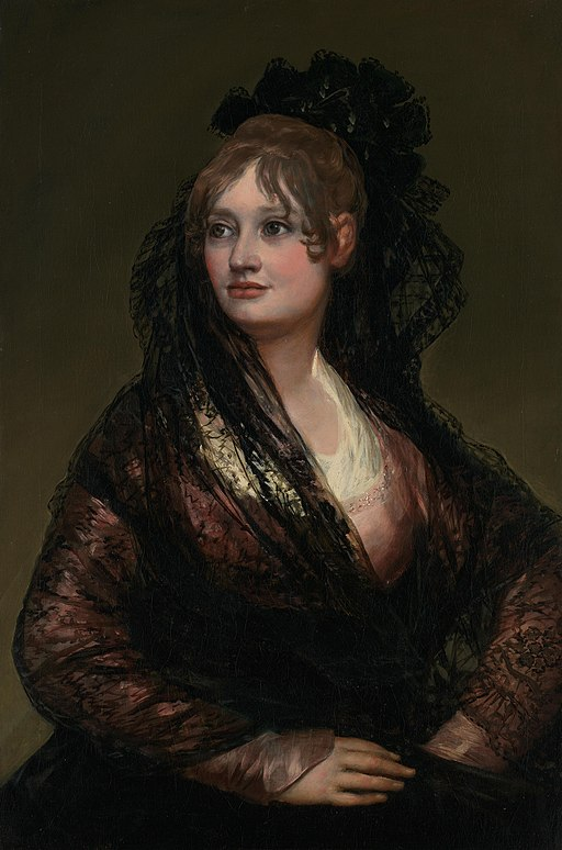 Portrait of Doña Isabel de Porcel by Francisco Goya