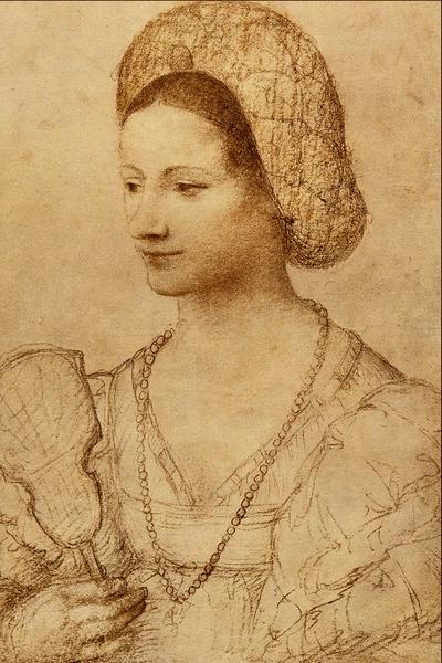 File:Portrait of a Lady with a Fan - Bernardino Luini.png