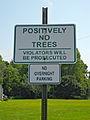 Positively no trees, Leesport PA.JPG