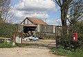 Post Box at Hillside Farm - geograph.org.uk - 160066.jpg