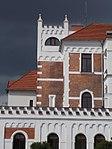 Post Office, detail, Városkapu Square, 2017 Mosonmagyaróvár.jpg