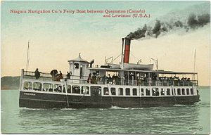Postcard of the Ongiara on the Niagara River -b.jpg