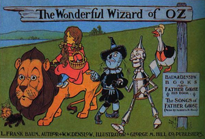 George M. Hill Company - 1900 poster advertising The Wonderful Wizard of Oz