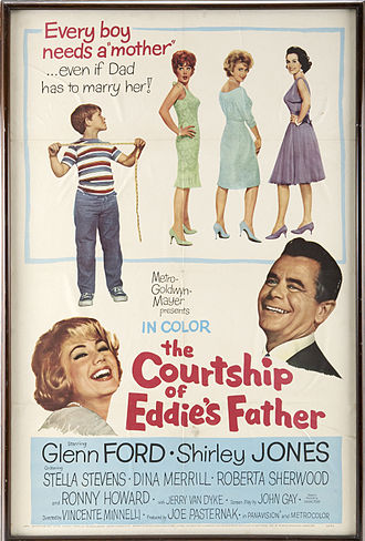 The Courtship of Eddie's Father (film) - Theatrical release poster