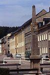 Postmeilensäule July 1992 Neustadt,Sachsen. (3678828451).jpg
