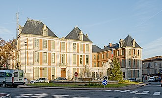 Tarn-et-Garonne - Prefecture building of the Tarn-et-Garonne department, in Montauban