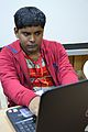 Prachatos Mitra - Bengali Wikipedia Editathon - Bengali Wikipedia 10th Anniversary Celebration - Jadavpur University - Kolkata 2015-01-10 3195.JPG