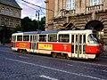 Praha, Josefov, tramvaj smluvní jízdy.jpg