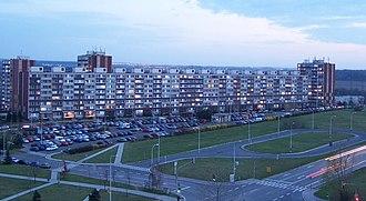 Petrovice (Prague) - Housing estate Dobrá Voda