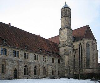 Predigerkirche (Erfurt) church building in Altstadt (Erfurt), Germany