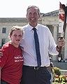 Premier Brian Pallister and Emily Doyle (36070292281).jpg