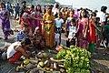 Preparation - Chhath Puja Ceremony - Baja Kadamtala Ghat - Kolkata 2013-11-09 4293.JPG