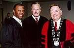 President George H. W. Bush with J.C. Watts and David Boren.jpg