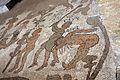 Prete pantaleone, mosaico del pavimento del duomo di otranto, 1163-1166, 02 uccisione di abele.jpg