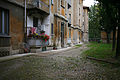 Primo quartiere popolare via Solari Cortile di sinistra.jpg