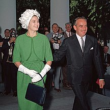 Monaco-20th century-Prince Rainier III and Princess Grace