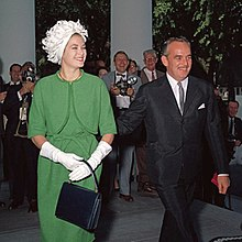 The Prince And Princess Of Monaco Arrive At White House For A Luncheon 1961