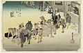 Print, Fujiyeda Post Station, in The Fifty-Three Stations of the Tokaido Road (Tokaido Gojusan Tsugi-no Uchi), ca. 1834 (CH 18608849).jpg