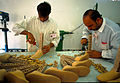 Production of prosthetics in Iraq, 2003. Photo- Victor Mello, UNDP Iraq (10715216816).jpg