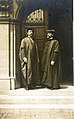 Professor of Architecture Frederick M. Mann and Louis Spiering at Washington University, June 1907.jpg