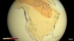 File:Projected U.S. Temperature Changes by 2100.webm