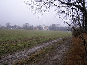 Proszowa Poland churchpath from Boza Gora to Proszowa.jpg