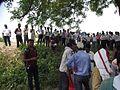 Public at Martyr Raja Lone Singh Fort.JPG