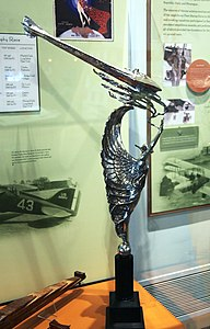 Pulitzer Trophy - side view - Smithsonian Air and Space Museum - 2012-05-15.jpg