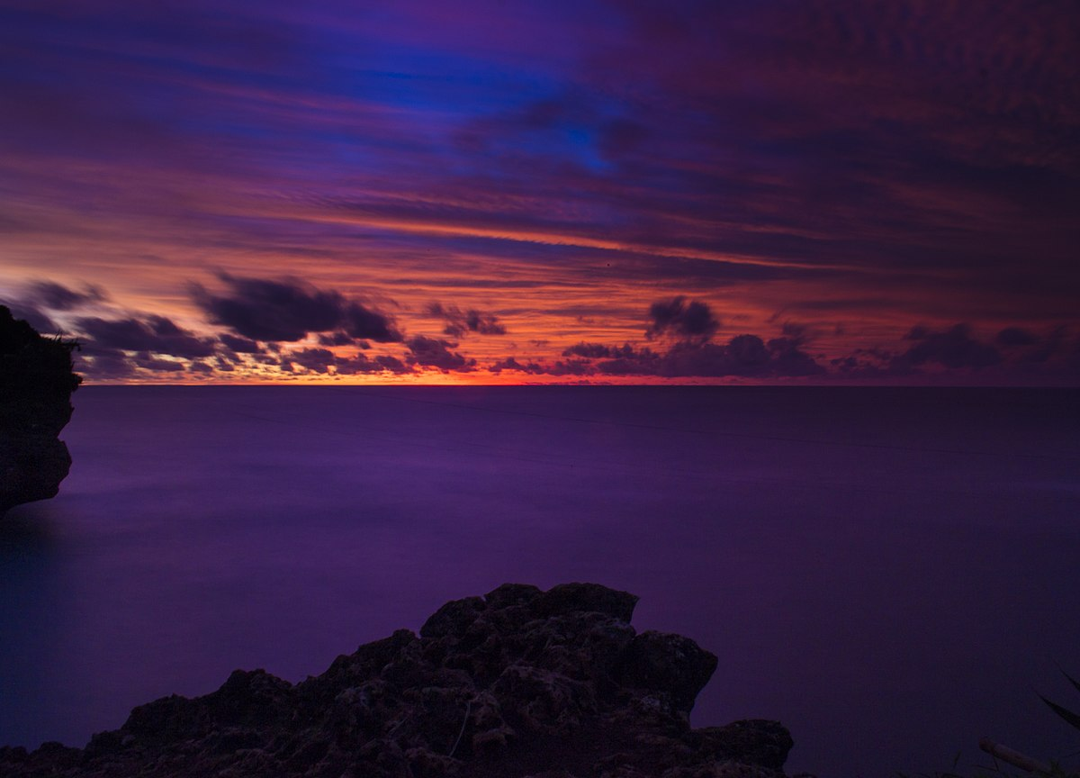 File Purple Sunset Seascape Jpg Wikimedia Commons