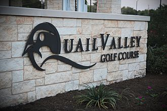 Missouri City, Texas - Quail Valley, a golf course community in Missouri City