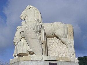 Bogny-sur-Meuse - Statue of Bayard the horse