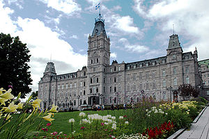 Quebec: Quebec national assembly