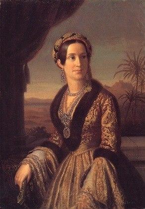Queen Amalia Greek Costume