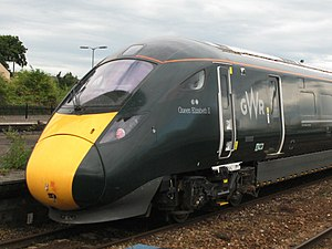 British Rail Class 800 - Image: Queen Elizabeth II 800003