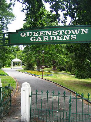 Queenstown Gardens - Image: Queenstown.Gardens