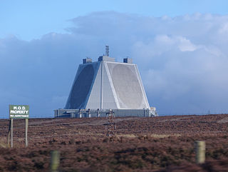 RAF Fylingdales Royal Air Force base in Yorkshire, England