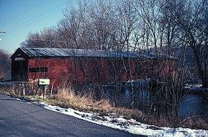 Hopewell Township, Cumberland County, Pennsylvania - Ramp Covered Bridge