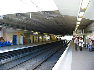 Antony, Hauts-de-Seine - View of Antony railway station