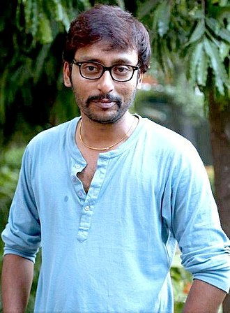 RJ Balaji - Image: RJ Balaji at Vadacurry Movie Press Show