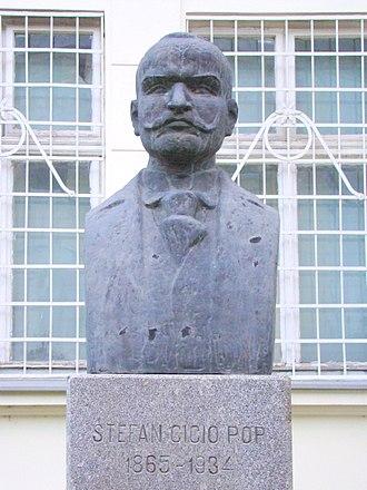 Ștefan Cicio Pop - Bust of Ștefan Cicio Pop in Alba Iulia