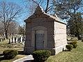 Rackleft Mausoleum - Evergreen Cemetery.JPG