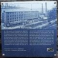 Radevormwald-Dahlerau, Textilstadt Wülfing, Verwaltungsgebäude, Info-Tafel 'Wechselvolle Nutzung'.jpg