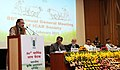 Radha Mohan Singh addressing at the 86th Annual General meeting of ICAR, in New Delhi. The Minister of State for Agriculture, Dr. Sanjeev Kumar Balyan, the Minister of State for Agriculture.jpg